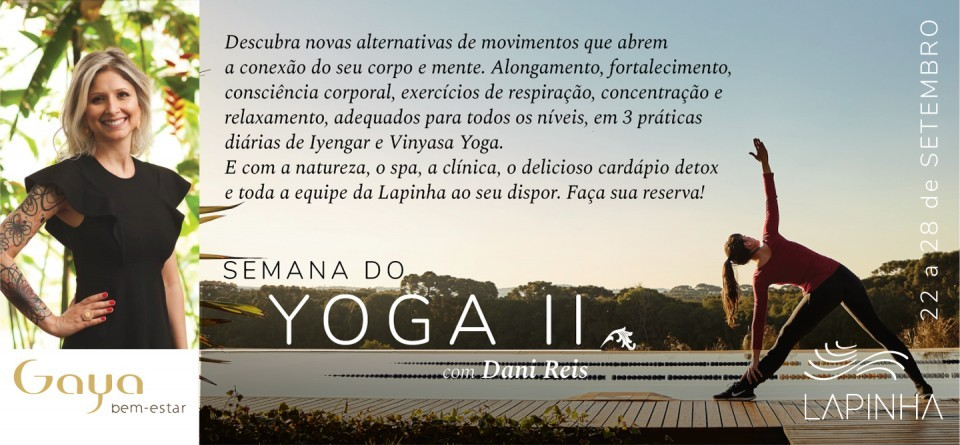Semana do Yoga II
